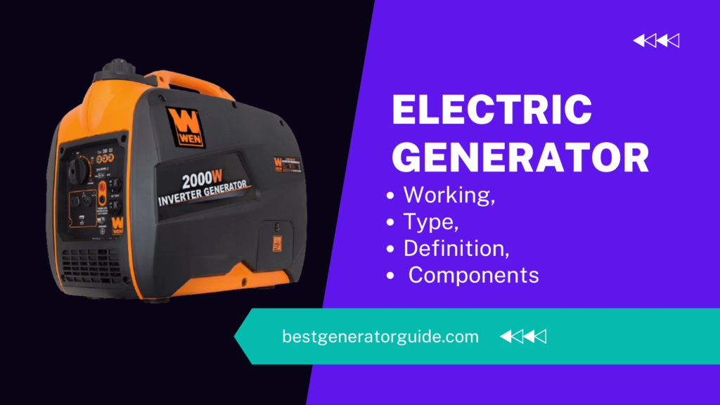 Electric Generator: What is it?