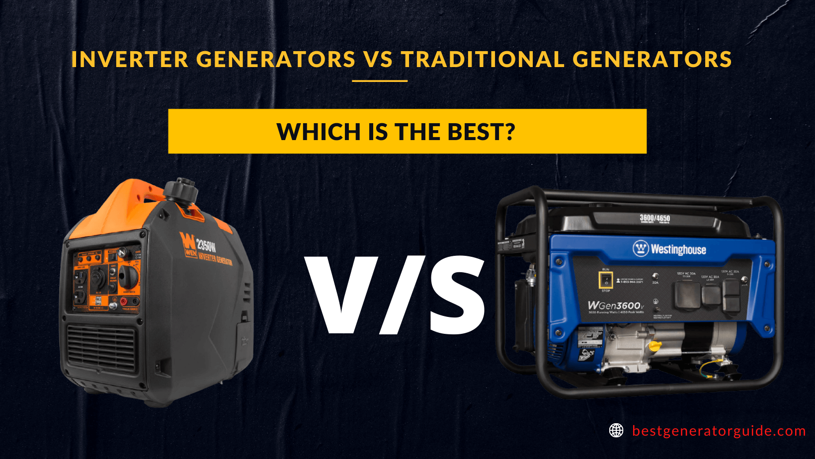 Inverter Generators Vs Traditional Generators